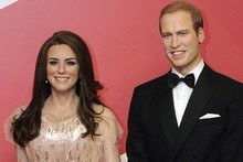 Final William and Kate waxworks unveiled in Blackpool