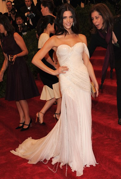 Ashley Greene in Atelier Donna Karan
