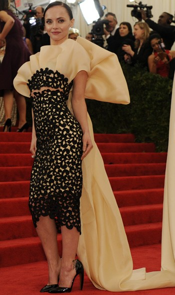Christina Ricci in Thakoon