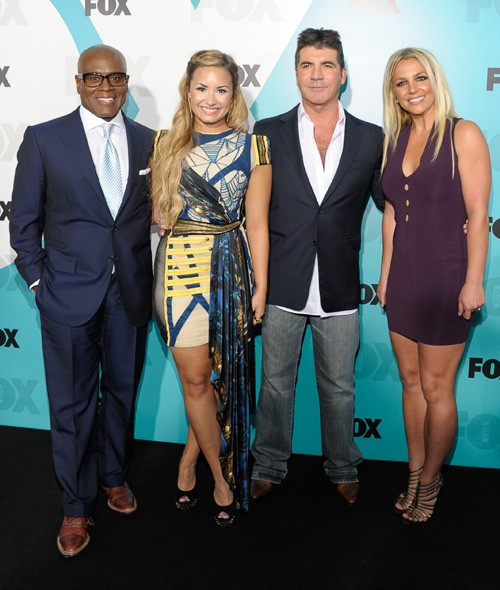 The new X Factor USA judging panel