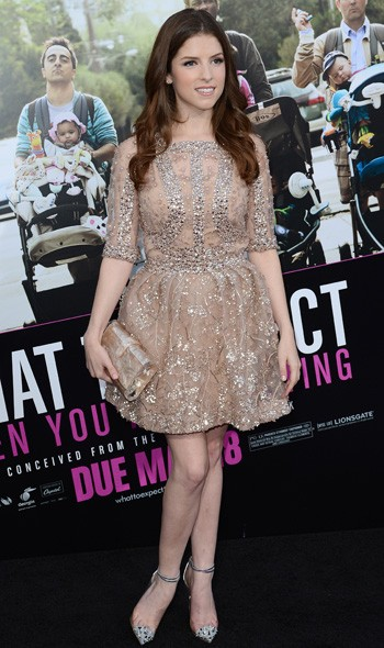 Anna Kendrick in Elie Saab at the LA premiere