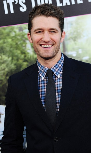Matthew Morrison at the LA premiere