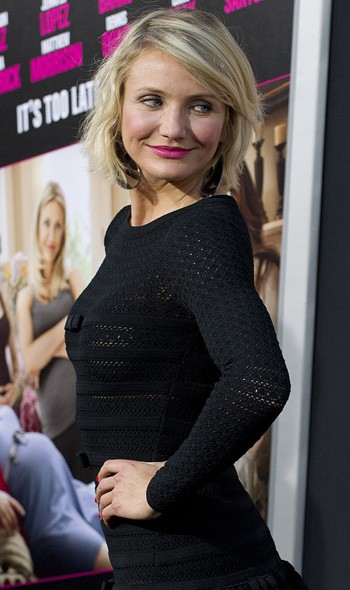 Cameron Diaz at the LA premiere