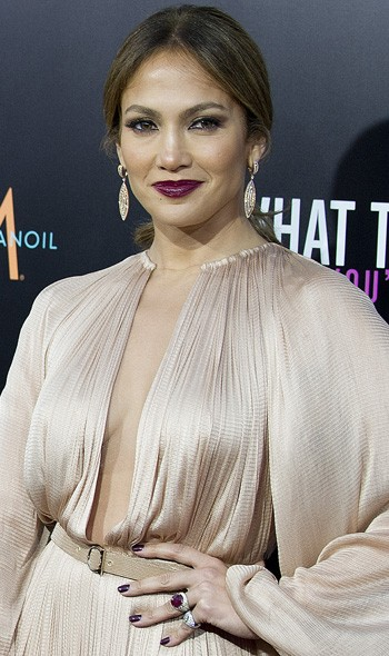 Jennifer Lopez at the LA premiere