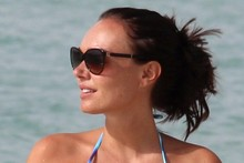 Tamara Ecclestone tops up her tan via second holiday of the month