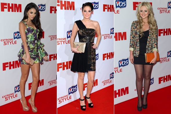 Who beat Cheryl and Rihanna to be crowned FHM's Sexiest Woman?