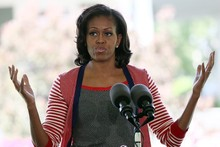 Gif alert! Michelle Obama does