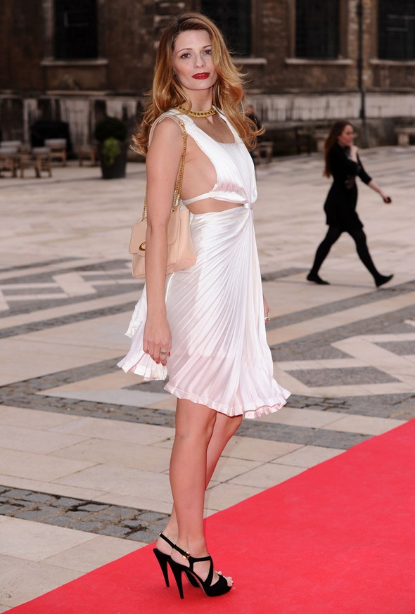 Masterpiece or disasterpiece: Mischa Barton's Marilyn-inspired dress
