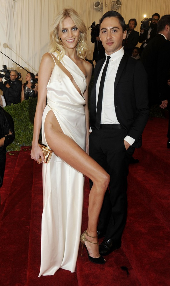Model Anja Rubik: Anything Angelina can do...