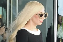 Lady Gaga channels Rapunzel in monochrome Moschino