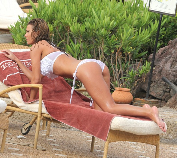Paddy McGuinness' wife Christine joins the bikini brigade