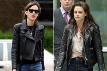 Style snap: Kristen Stewart and Alexa Chung are fashion twins in NYC