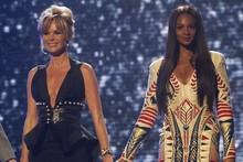Fashion face-off: Amanda Holden vs Alesha Dixon on the BGT stage