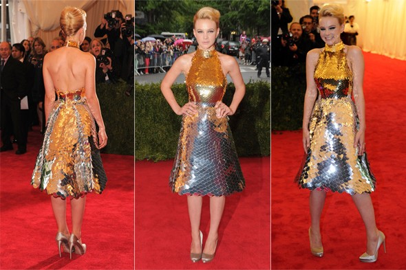 Carey Mulligan selling her Met Gala Prada dress on eBay