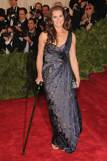 Brooke Shields in J Mendel
