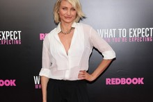 Cameron Diaz hits the red carpet for What to Expect When You're Expecting premiere