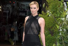 Charlize Theron and Kristen Stewart hit London for Snow White world premiere
