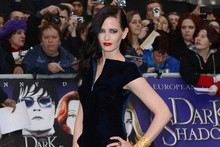 Dark Shadows: Eva Green wows in Tom Ford, Michelle Pfeiffer and Chloe Moretz colour co-ordinate