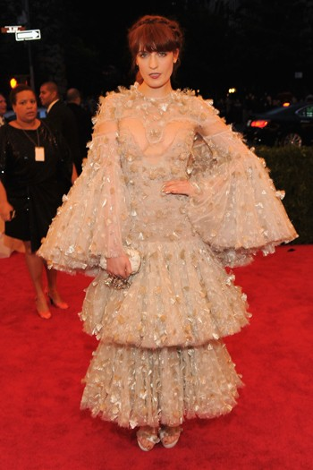 Florence Welch in Alexander McQueen