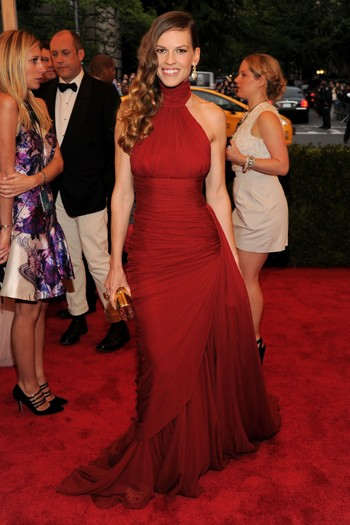Hilary Swank in Michael Kors