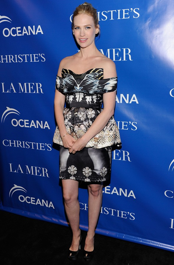 January Jones wearing Mary Katrantzou