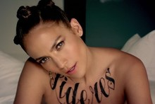 Check out Jennifer Lopez's huge new torso tattoos...