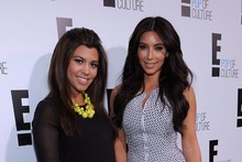 The Kardashians hit E! Upfront party, Kourtney's baby bump is blooming