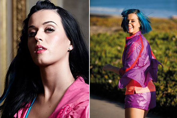 Katy Perry flaunts abs in pink sports bra and trackie bottoms for new Adidas shoot