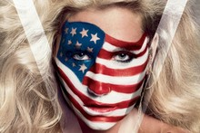 Ke$ha covers V Magazine's Americana issue in stars and stripes
