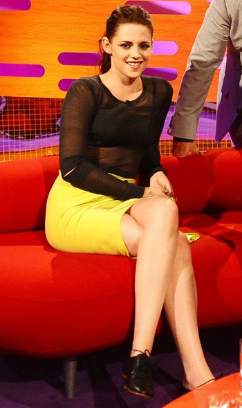 Kristen Stewart on The Graham Norton Show, London