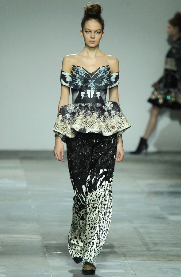 Mary Katrantzou Autumn/Winter 2012 collection