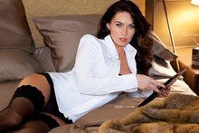 Megan Fox shows off her stockings in new ad campaign