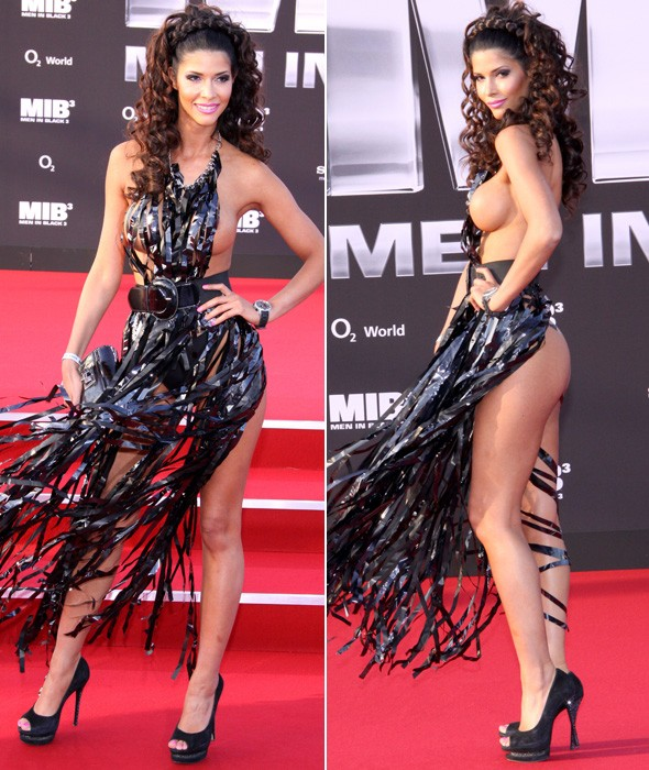 Micaela Schaefer at the Men in Black 3 premiere