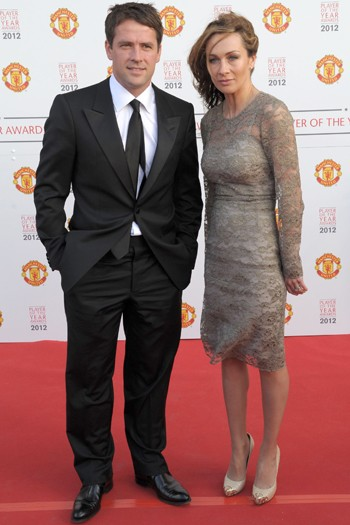 Michael Owen and his wife