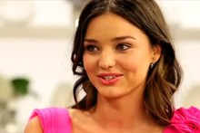 Miranda Kerr reveals bizarre beauty tip (it involves a kitchen utensil)