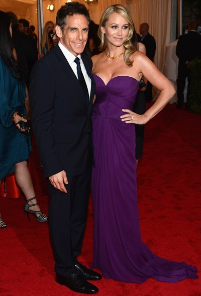 Ben Stiller and Christine Taylor In J Mendel