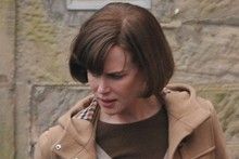 Guess who? Nicole Kidman is unrecognisable on set ot The Railway Man