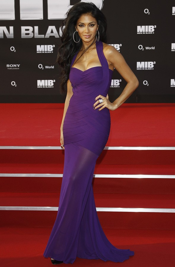 Nicole Scherzinger at the Men in Black 3 premiere in Berlin