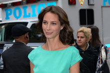 Supermodel moment: Christy Turlington in New York