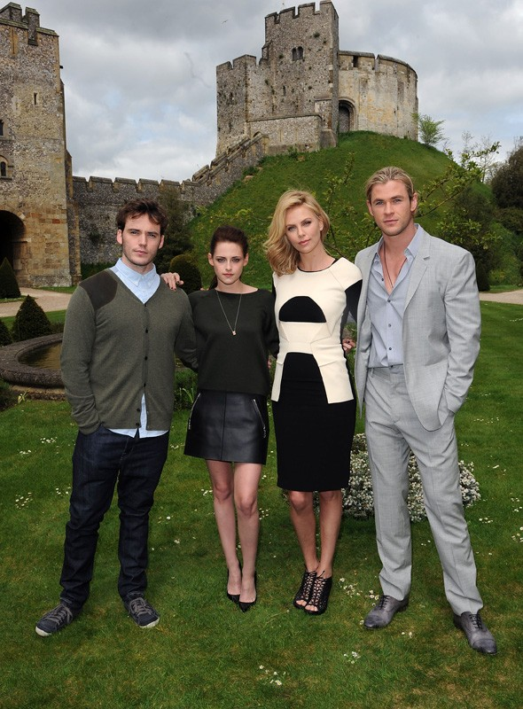 Snow White and the Huntsman photo call at Arundel castle
