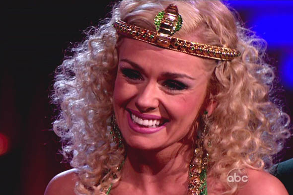 Dancing With the Stars: Katherine Jenkins ends up in tears despite carnival costume