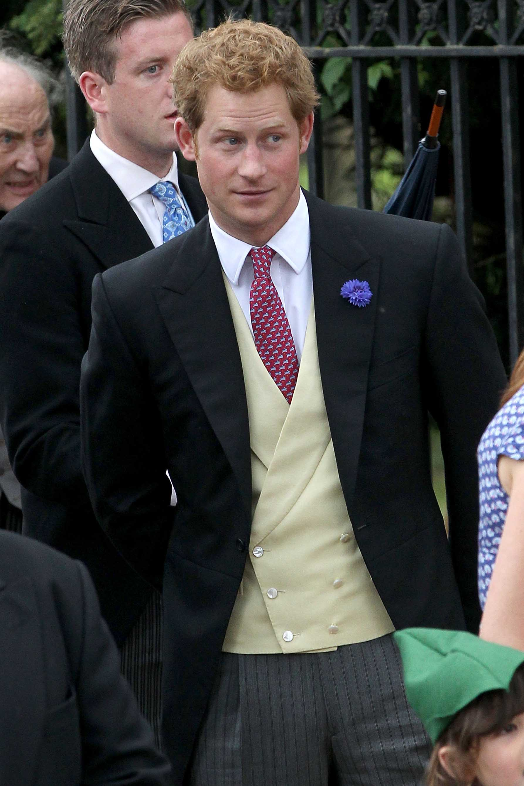 prince harry celebrated prince george's birth at the pub