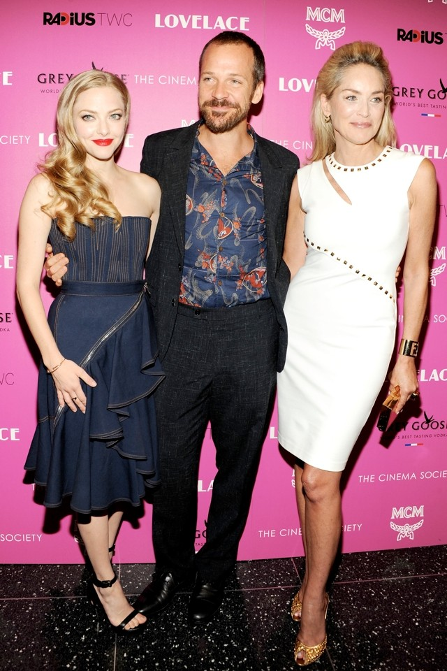 Did Sharon Stone Steal Amanda Seyfried's Limelight At Lovelace NY Screening? (Hell, Yeah)