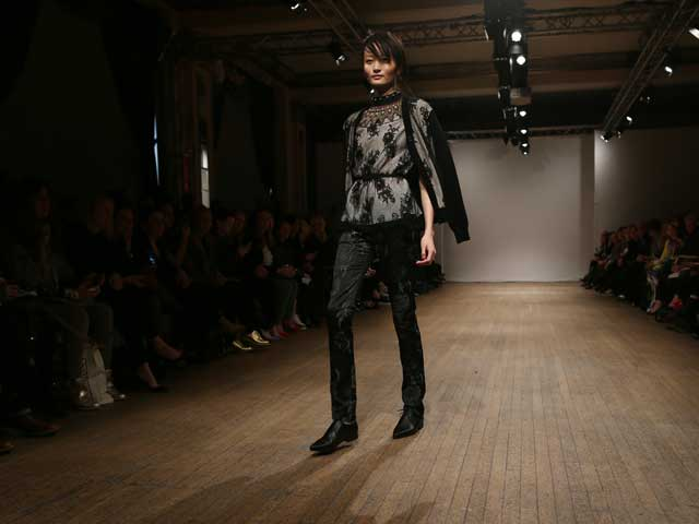 London Fashion Week Autumn/Winter 2013: Clements Ribeiro
