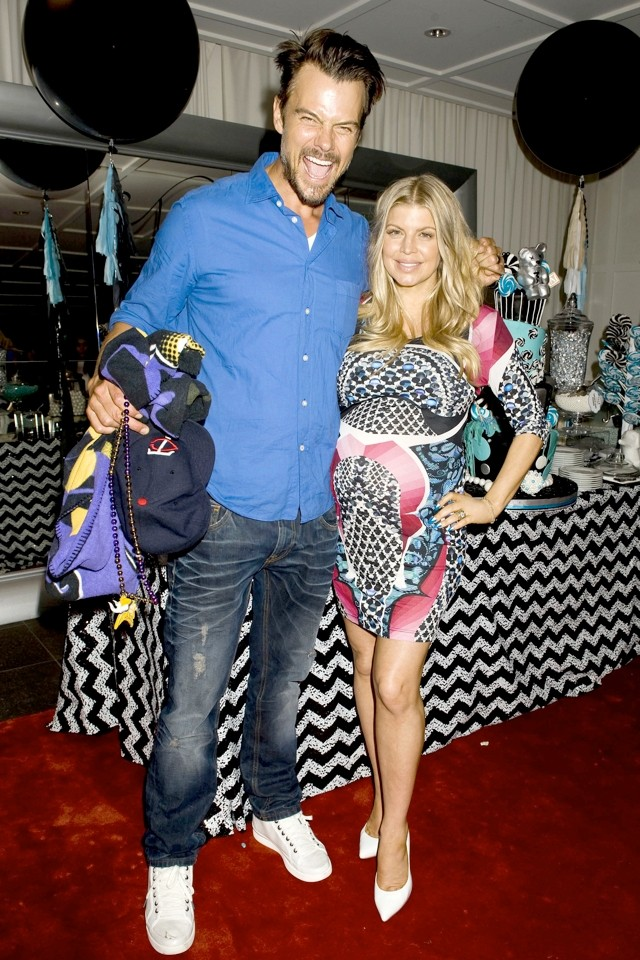 Fergie Goes Super-Glam For Star-Studded Baby Shower