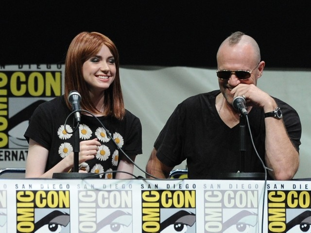 Hair We Go! Karen Gillan Unveils Bald Head At Comic-Con