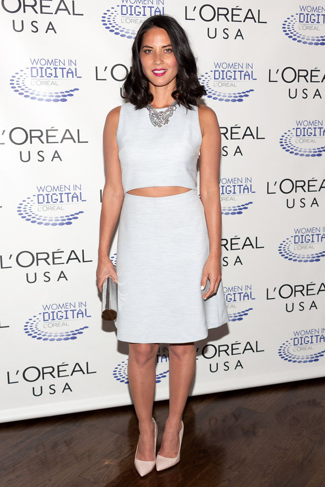 How To Wear A Crop Top, By Olivia Munn | The Huffington Post