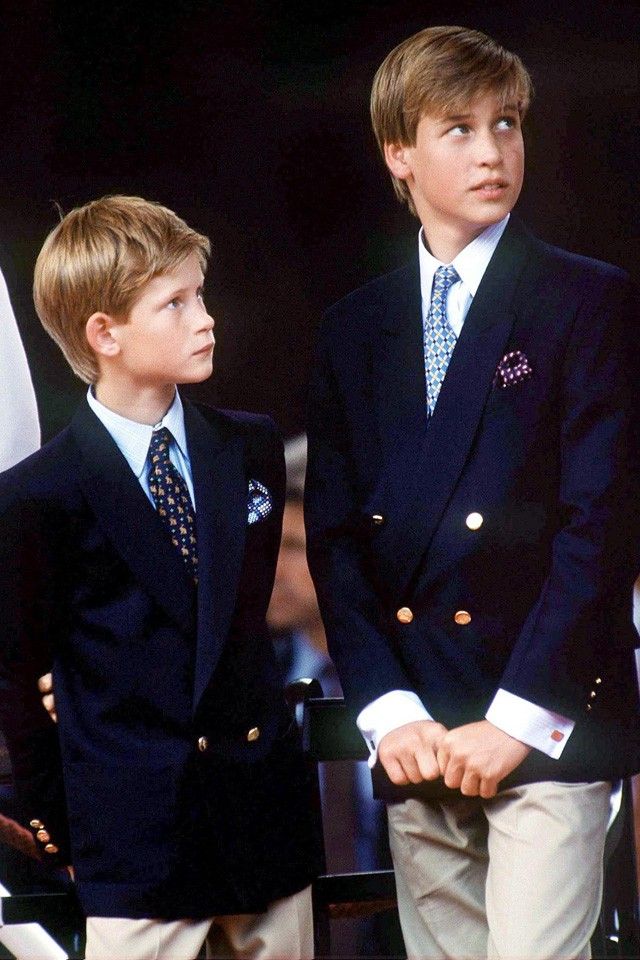 prince harry and william stayed at kate hudsons house