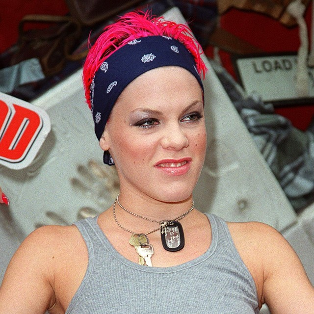 pink in 2000
