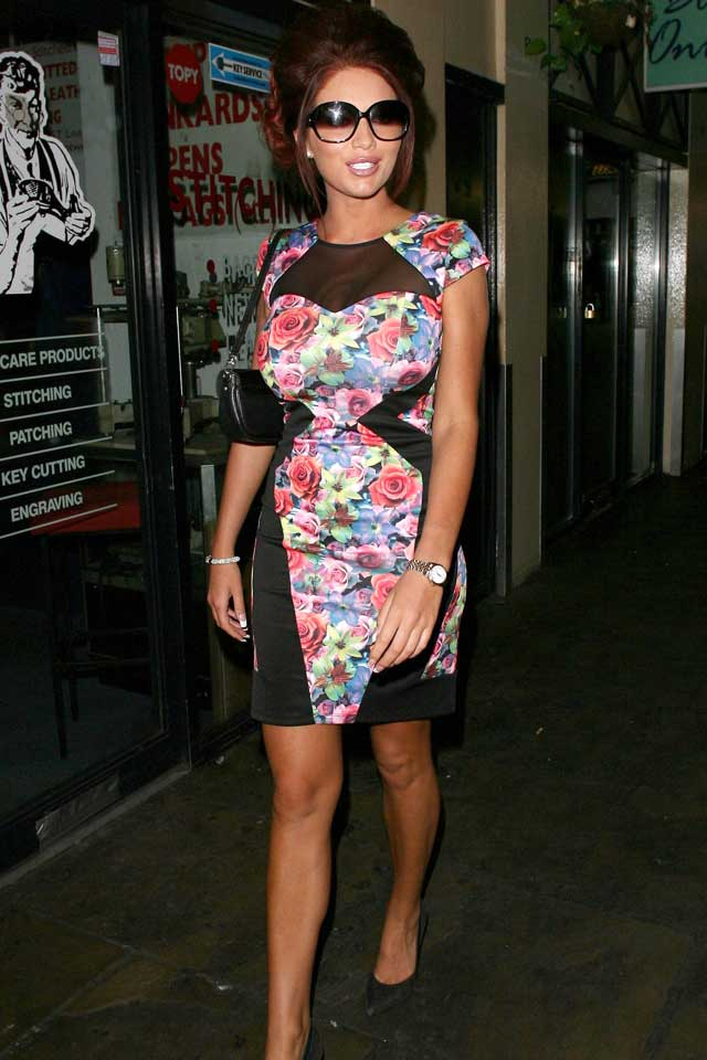 We Love Amy Childs! Star Certainly Went For The WAG Theme For West End Show Wag!